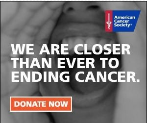 Sixty years ago, 1 out of 3 people diagnosed with cancer survived at least 5 years. Today, thanks in part to the work of the American Cancer Society, 2 out of 3 will survive. Let's make it 3 out of 3. Join us to help finish the fight.