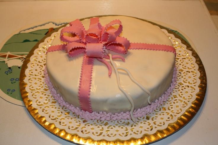 Pink Ribbons Cake by Pat Zardi
