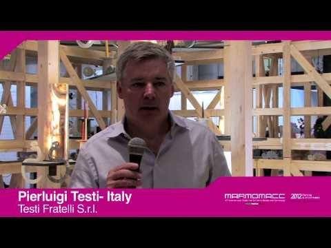 Marmomacc 2012: Pierluigi Testi interview