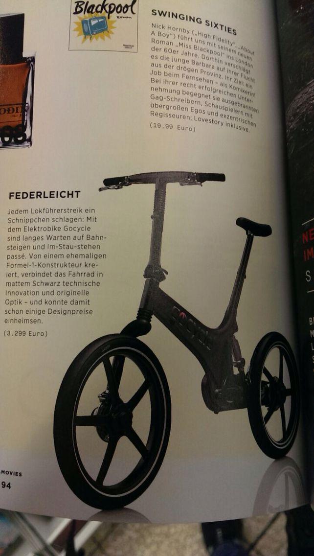 Gocycle at movie.me