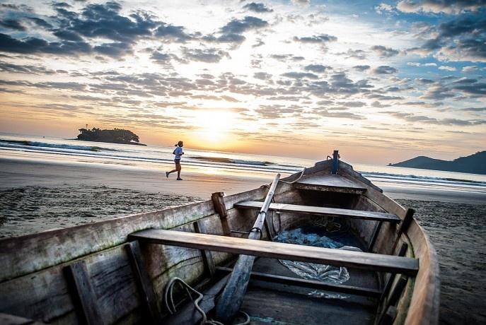 Canoas em Balneário Camboriú/SC - Brasil.
