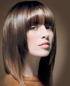 Классная стрижка каскад для густых волос