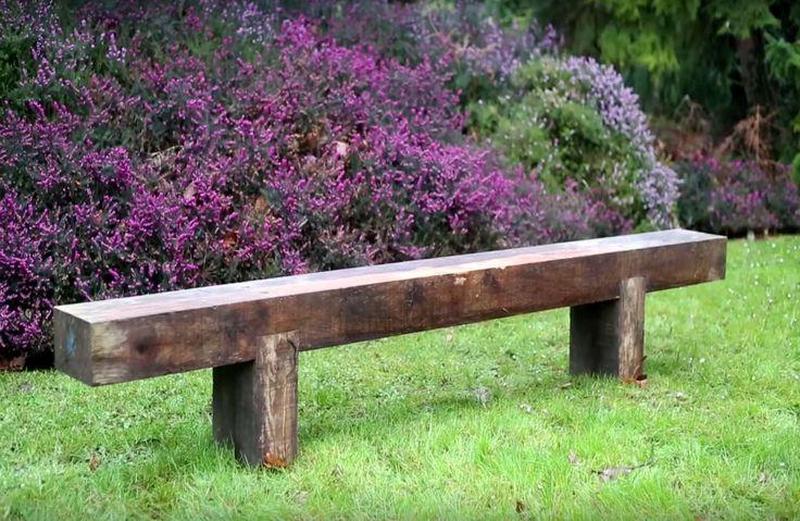11 best Salon images on Pinterest Living room, Home ideas and Wood - plan pour fabriquer un banc de jardin