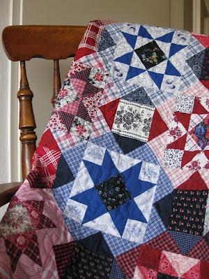 Hollandse stofjes, dit wordt mijn volgende quilt.  Ik heb de stof, nu alleen nog maken.
