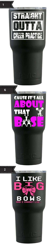 $35 RTIC 20oz. Cheerleading Tumblers. Cheerleading water cups. Cheerleader gifts. Cheer coach. Cheer mom. Stunt group gift for bases. #cheerleading #ad