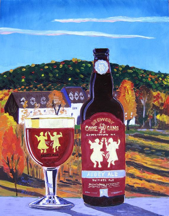 17 best images about beer art by scott clendaniel craft for New york craft breweries
