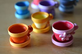Quilling Ideas: Tea = Happiness :)