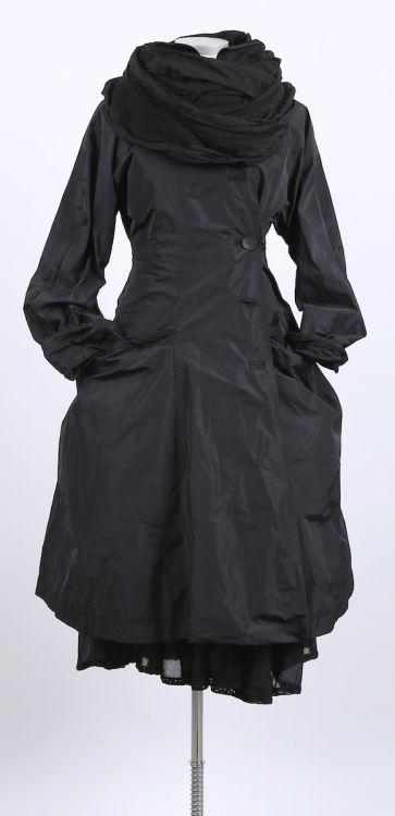 mo koshji - Mantel Mantelkleid Seide Mix black - Sommer 2015 - stilecht - mode für frauen mit format...