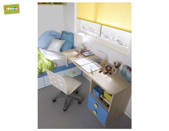 20 mejores im genes sobre ideas para amueblar dormitorios - Dormitorios juveniles espacios pequenos ...