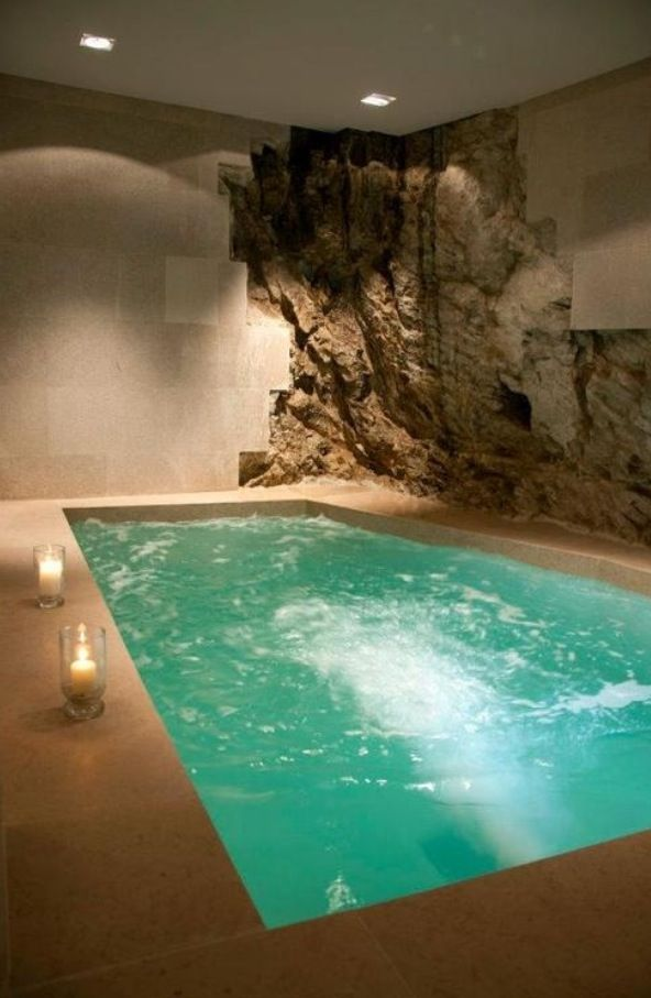 Amazing Indoor Hot Tub!