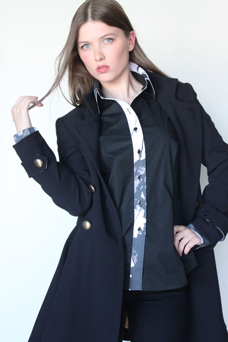 Must have Military coat! www.AMABILEStyle.com