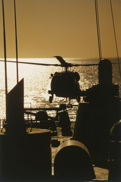 S-70B-2 Seahawk, HMAS Adelaide, Operation Desert Storm, Gulf of Oman - November 1990