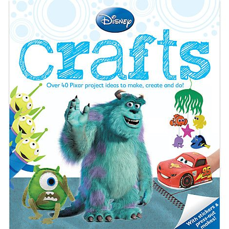 Pixar Crafts Book