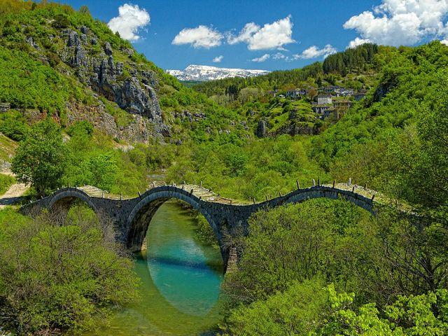 Famous bridges of Zagori, Epirus, North-West Greece  http://www.pargagreece.net/zagori-epirus/
