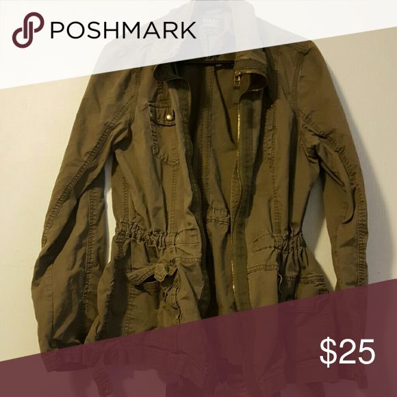Womens utility jacket Fits like a medium worn but in good condition. Price is flexible!  Ashley outerwear  Jackets & Coats Utility Jackets