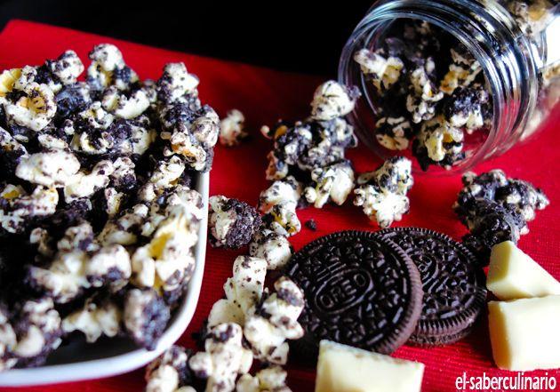 Cómo hacer Palomitas de Oreo y Chocolate Blanco   ¿Por qué revientan las palomitas al cocinarse?
