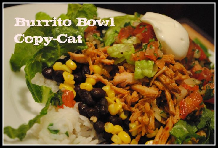 Healthy burrito bowl with lean pork. A keeper. The kids did okay with it.Bowls Copy Cat, Chipotle Burritos Bowls, Bowls Copycat, Copy Cat Recipe, Burrito Bowls, Cooking Sweets, Chipotle Barbacoa, Cat Burritos, Barbacoa Pork