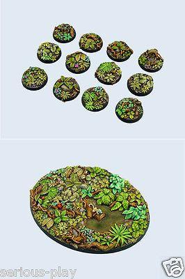 Jungle Bases - Micro Art Studios - Resin Warhammer Seraphon Lizardmen Catachan