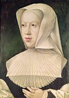 Margaret of Savoy, Countess of Saint-Pol (1439-1483). Daughter of Louis, Duke of Savoy and Anne de Lusignan, Princess of Cyprus. Wife of John IV of Montferrat & Pierre II de Luxembourg