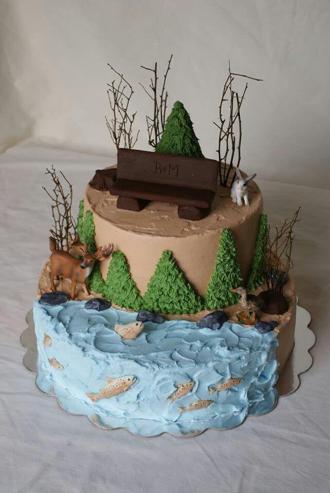 Outdoor cake