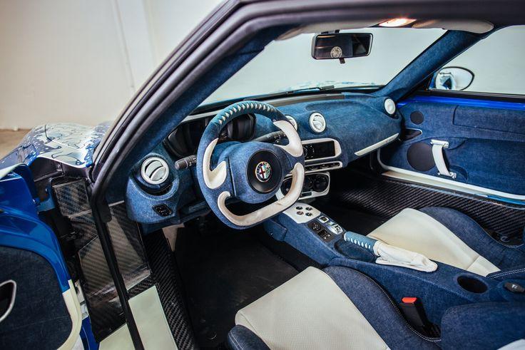 Alfa Romeo 4C Hokusai - Denim and Leather