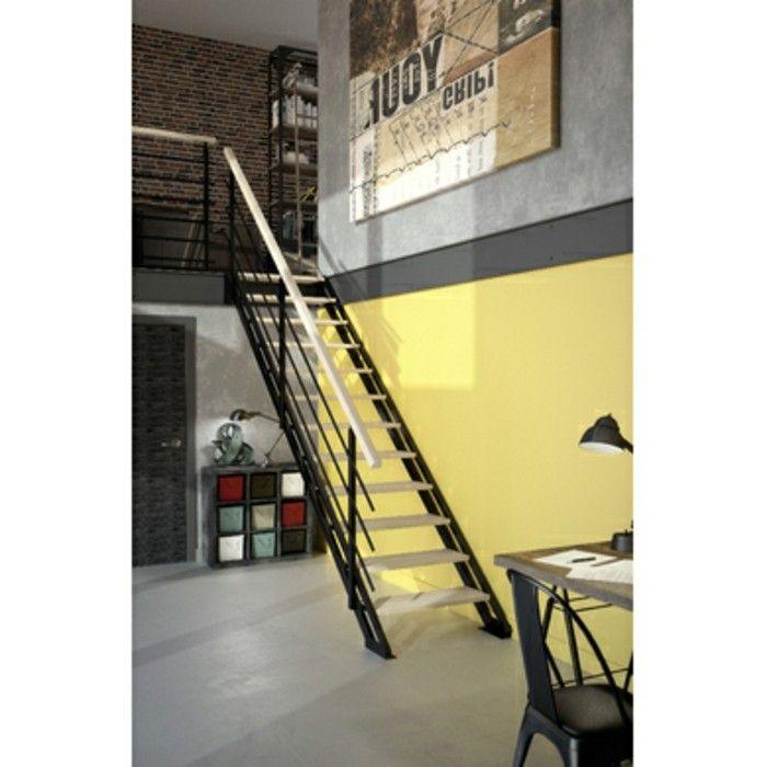 Les 25 Meilleures Id Es Concernant Escalier Gain De Place Sur Pinterest Escalier De Meunier
