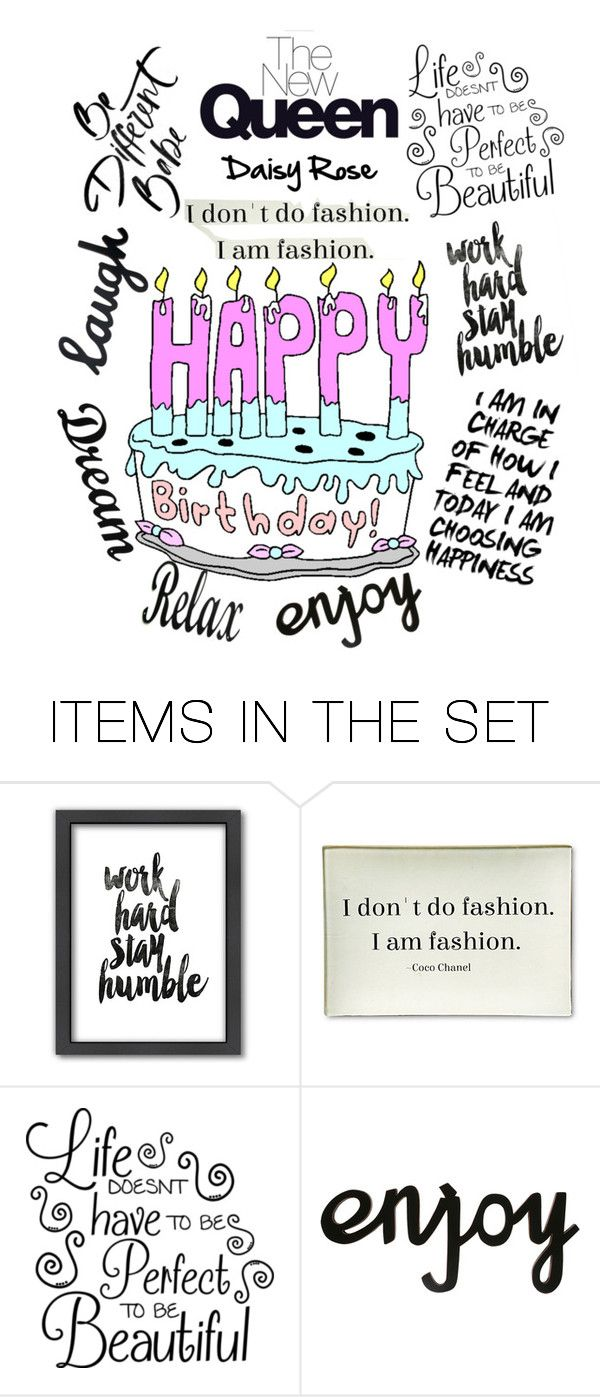 """""""my 19th birthday is in a few hours..... I just put together a bunch of inspirations in a birthday message to myself.... how very Kanye of me"""" by roseberry515 ❤ liked on Polyvore featuring art"""