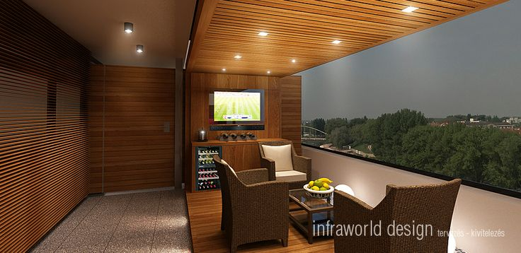 The goal is the realization of a wellness sauna terrace with overall execution.