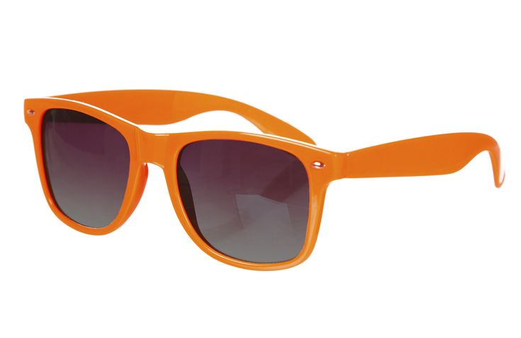 These are orange way-fer sunglasses they cost $14.99 dollars.