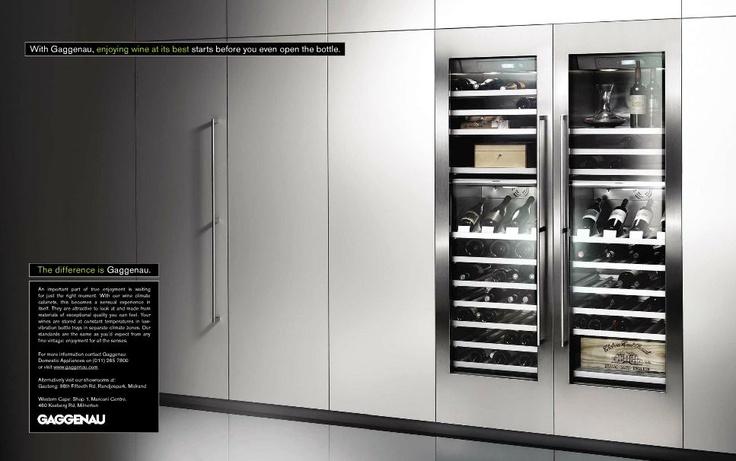 Gaggenau wine fridge