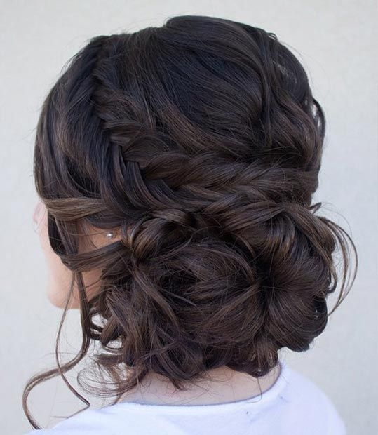 hair styles for curly hair for best 25 side bun updo ideas on 6069