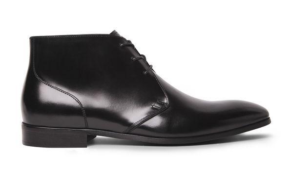 Richmond Black Chukka Boots,