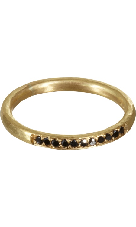 Malcolm Betts Black Diamond Ring #TZRbday