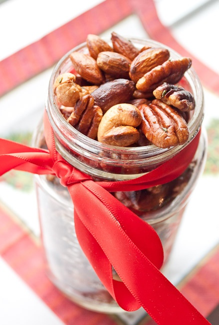 Savour Sisters: Day 11: Spiced Mixed Nuts