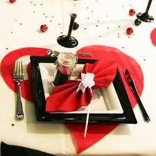 """Résultat de recherche d'images pour """"decoration de table de mariage rouge et…"""