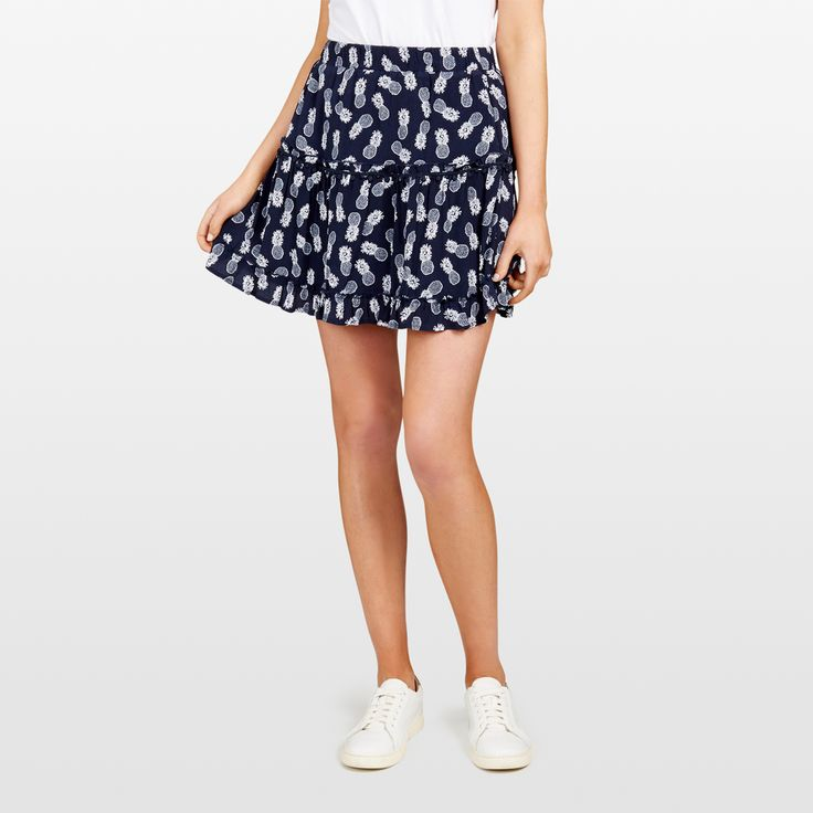 New Arrivals   Pineapple Tiered Skirt. #frenchconnectionau #fcuk
