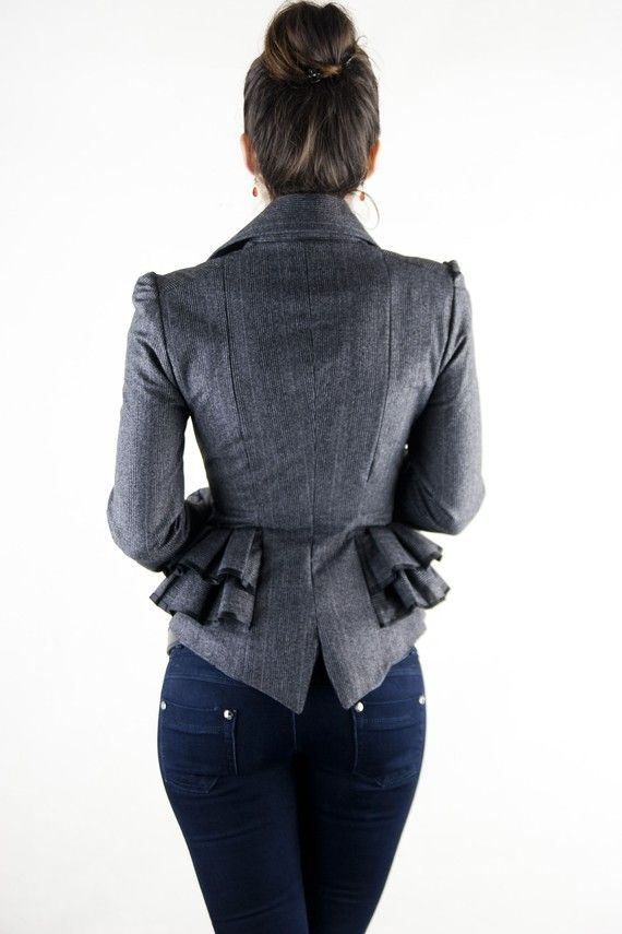 adelle jacket by lauragalic on Etsy
