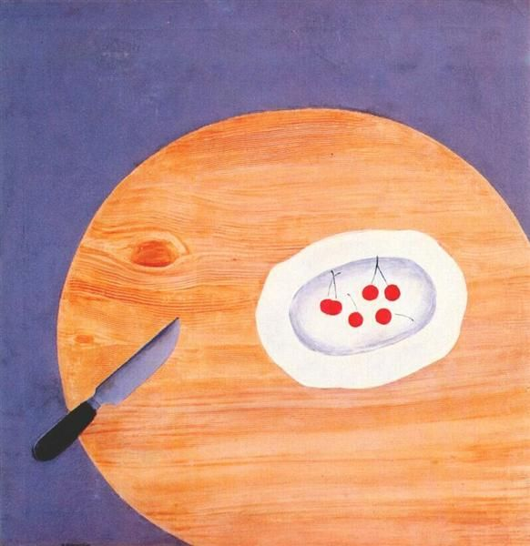 David Shterenberg - Still Life With Cherries