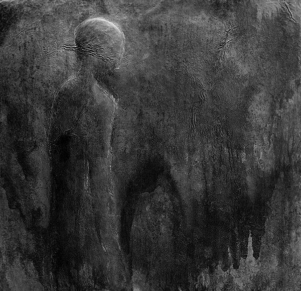 Lisa, sculpture in metal,  by artist Thaddäus Salcher