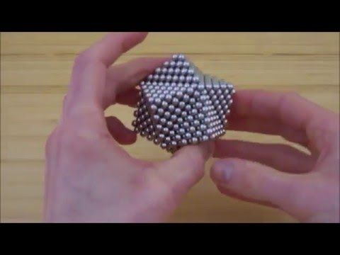 TUTORIAL Right Angle Pyramid Octahedron Stellation (Zen Magnets) - YouTube