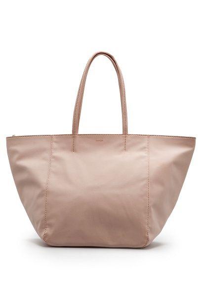 MANGO - BAGS - Faux leather tote bag