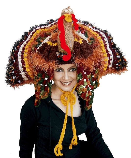 I think I know what I'll be wearing at the next Macy's Thanksgiving Day Parade! Do you dare me?