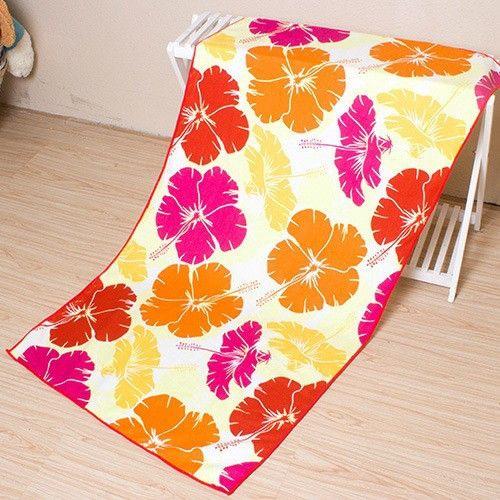 high quality brand beach towel soft microfiber printing the euro dollar 4 colors 70140cm