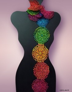 .: Crafts Ideas, Crochet Projects, Knits Scarves, Scarf Kits, Chakra Scarf, Crochet Scarves, Scarf Crochet, Crochet Pattern, Scarf Patterns