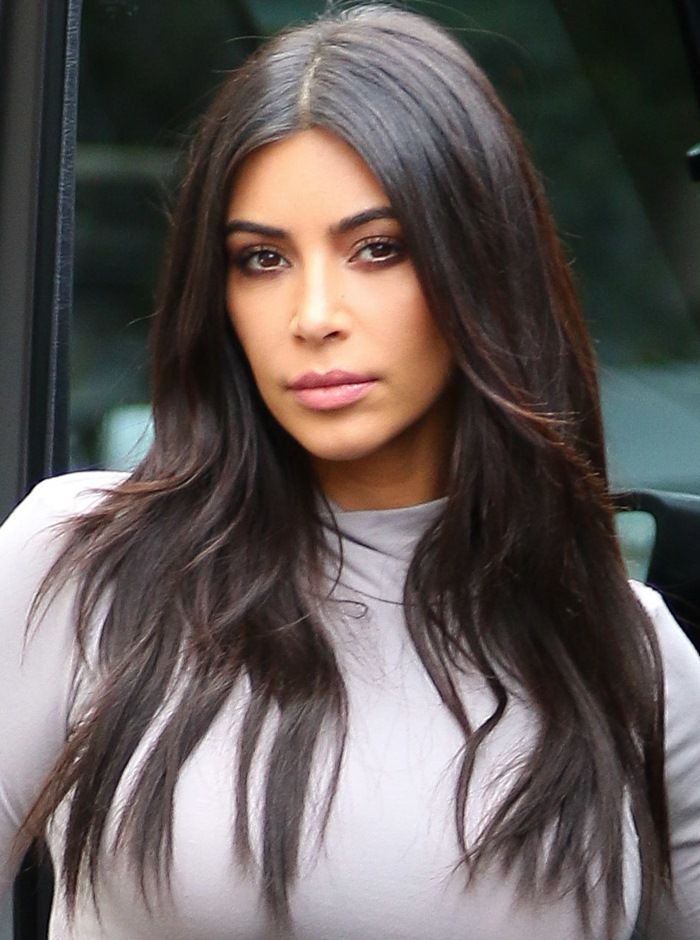 Kim Kardashian's Booty Looks Rounder Than Ever in Ugly Plastic Sandals