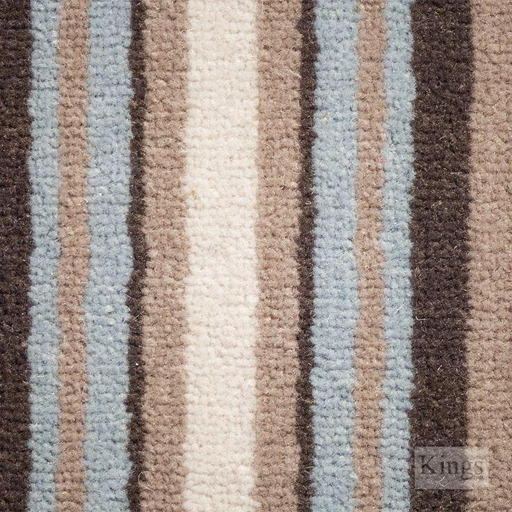 #AdamsCarpets Castlemead Velvet Stripe www.kingsinteriors.co.uk/flooring/striped-carpet