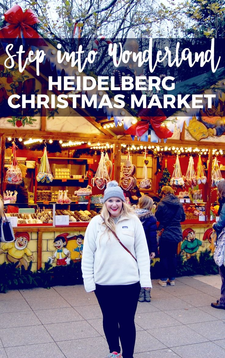 Step into Wonderland Heidelberg Christmas Market German