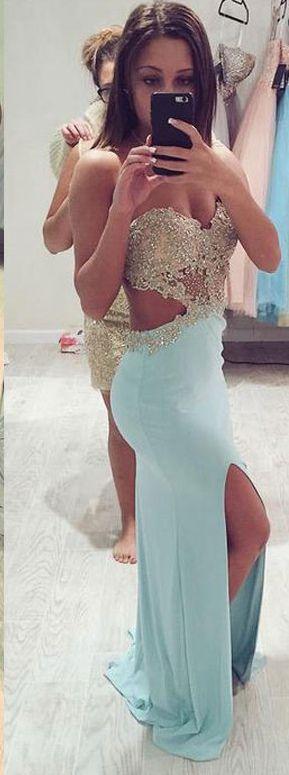 682 best Dresses images on Pinterest | Homecoming dresses, Prom ...