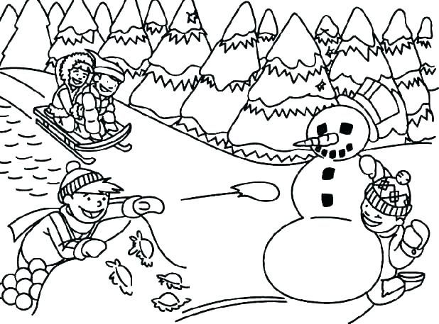 Free Printable Winter Coloring Pages For Kids Cool Coloring Pages Coloring Pages Winter Sports Coloring Pages