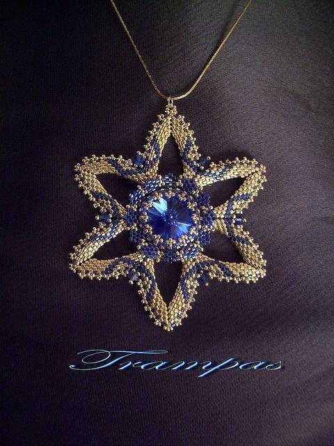 Estrella plata y azul 2 | Flickr - Photo Sharing!